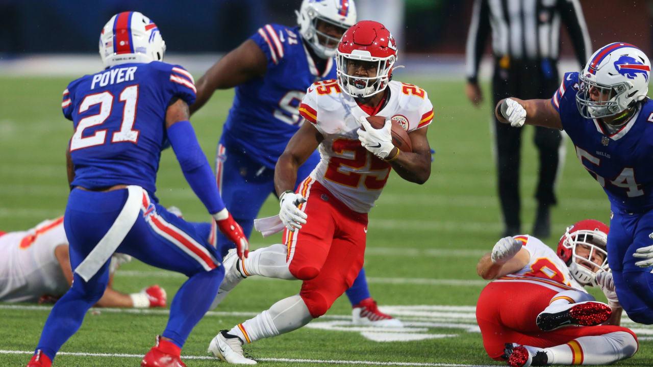 Chiefs RB Clyde Edwards-Helaire se transforma em Monster Day vs. Bills antes da chegada de Le'Veon Bell – NFL.com