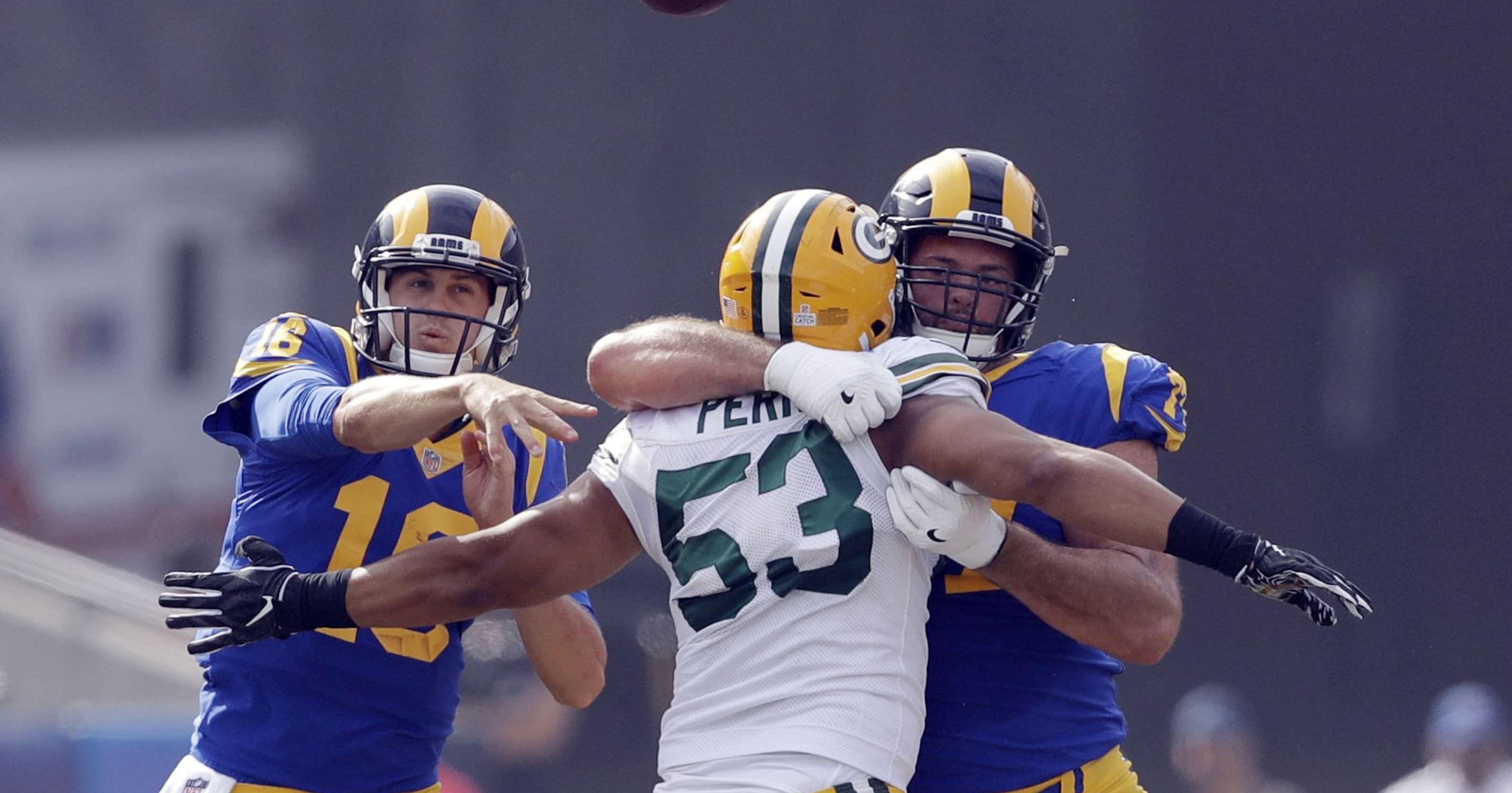 Painel AP classifica a linha ofensiva do LA Rams como melhor na NFL
