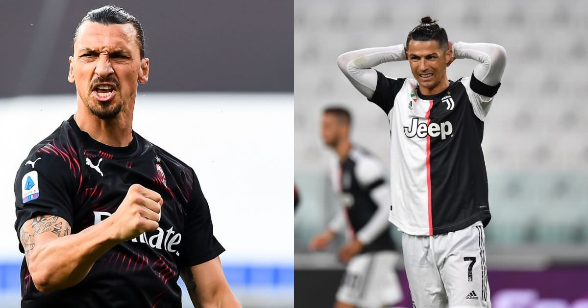 O ex-técnico considera Ibrahimovic mais influente do que Ronaldo